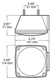 Anderson E441L Dimensions