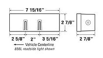Anderson E456L Dimensions