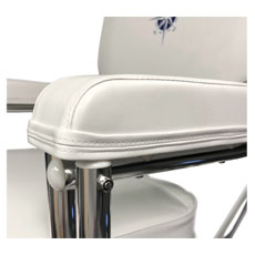 Gen3 Marine Padded Deck Chair Armrests
