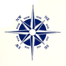 Gen3 Padded Deck Chair Compass Design