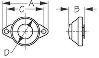 Sea Dog 420429-1 Dimensions