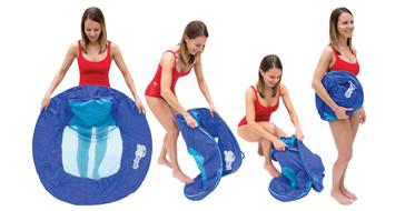 Swimways Sunseat Folding Steps