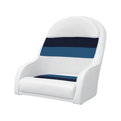 Boat Captain Bucket Seat Cushion Marine Vinyl Pontoon Foam Padded Chair Boating