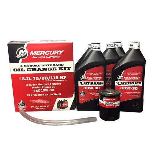 Mercury Marine 2 1L 75/90/115 HP 4-Stroke Oil Change Kit