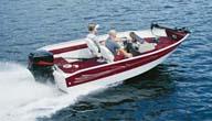 Aluminum Deep V-Hull Fishing Boats Without Motor Hood