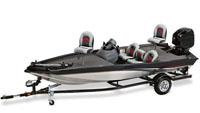 Aluminum Tournament Style Tri-Hull Fishing