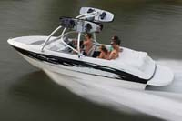 Euro V-Hull Runabouts with Wakeboard Tower