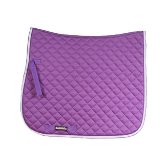 Prinze Dressage Saddle Cloth - Purple