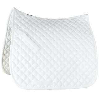 Prinze Dressage Saddle Cloth - White