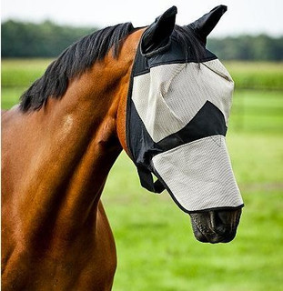 HZ Fly Mask with Nose