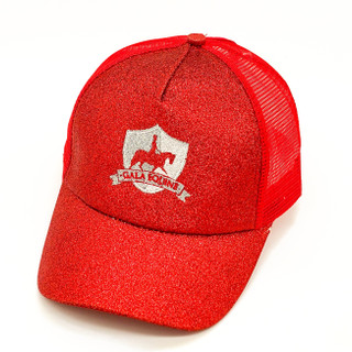 Red Sparkle Hat