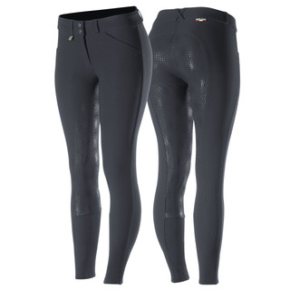 HZ Grand Prix FS Breeches (Black) By Horze