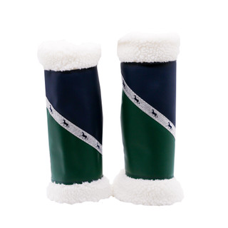 Sherpa Boots - Navy & Green (Pair) FULL