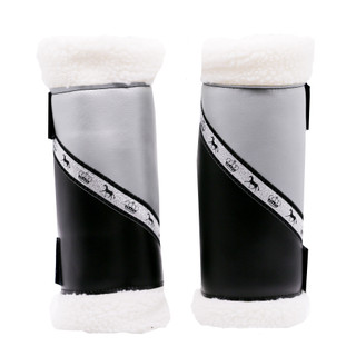 Sherpa Boots - Black & Silver (Pair) FULL