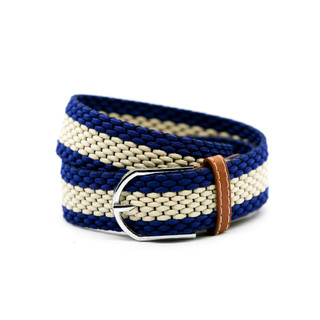 Navy with Tan Middle Belt - THICK