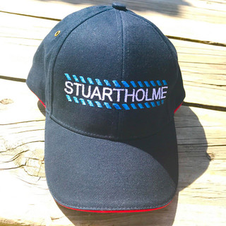 Stuartholme Equestrian Team Cap. Navy Cotton with Embroidery to font. Adjustable one size fits all from back. Name can be added also in options