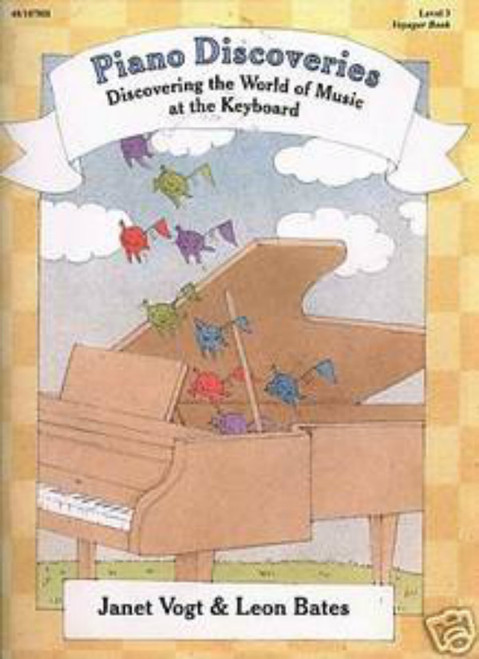 Piano Discoveries Level 3 (Books and Disc)