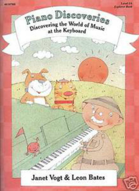 Piano Discoveries Level 1A (Books and Disc)