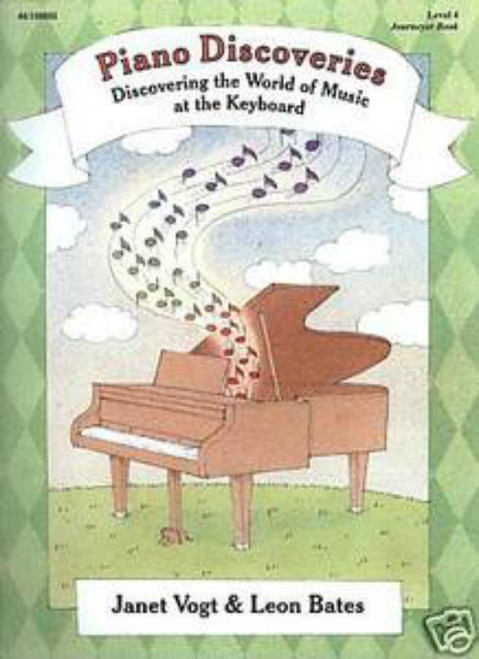 Piano Discoveries Level 4 (Books and Disc)