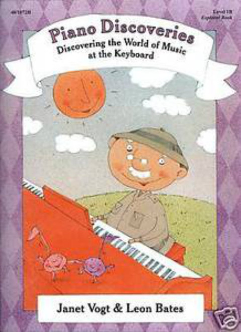 Piano Discoveries Level 1B (Books and Disc)