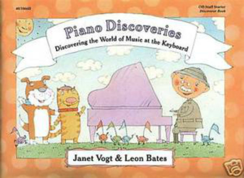 Piano Discoveries Off-Staff Starter (Books and Disc)