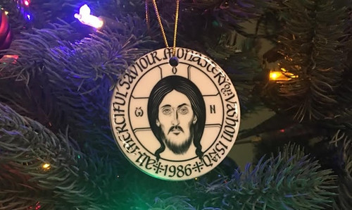 Monastery Christmas Tree Ornament