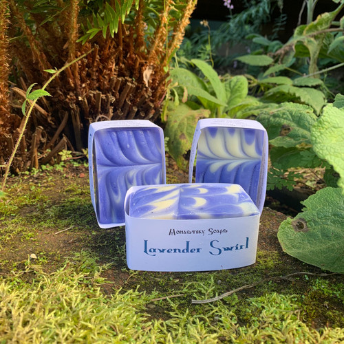 Lavender Swirl Soap
