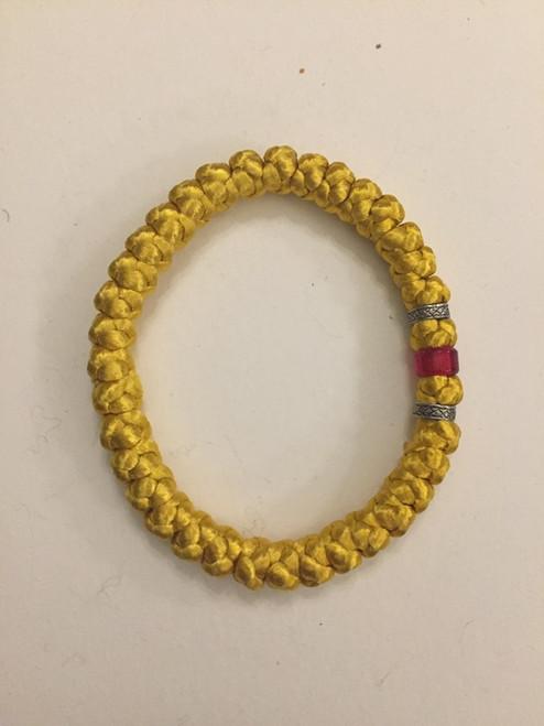 33 knot satin cord prayer rope
