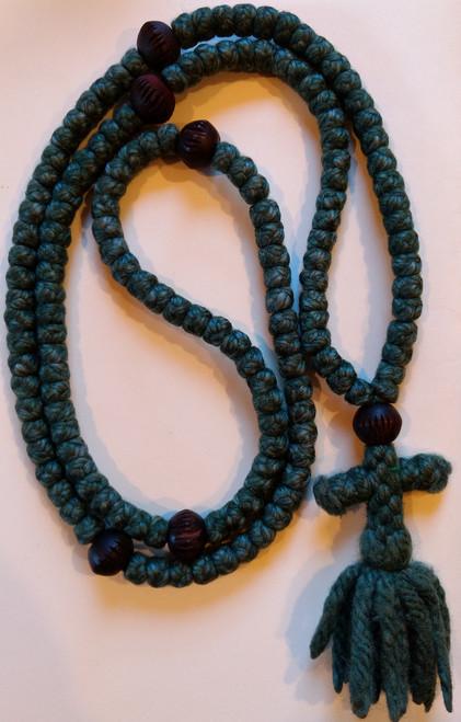 150 knot woolen prayer rope
