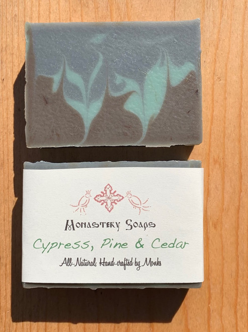Cypress, Pine and Cedar Soap