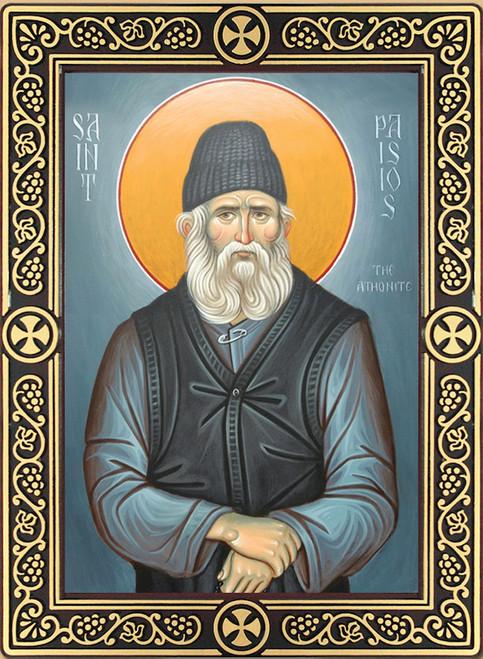 Icon of St. Paisios of Mt. Athos