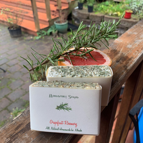 Grapefruit Rosemary Soap