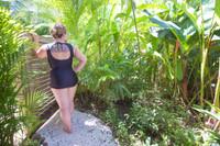 plus size vintage swim bottom