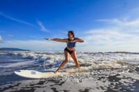 high waist surf swim bottom