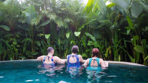 recycled plastic swim tops plus size