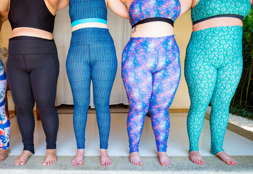 Yoga leggings plus size