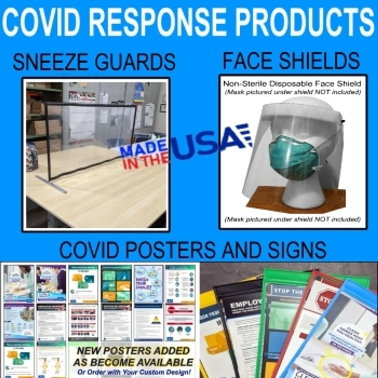 COVID RESPONSE PRODUCTS