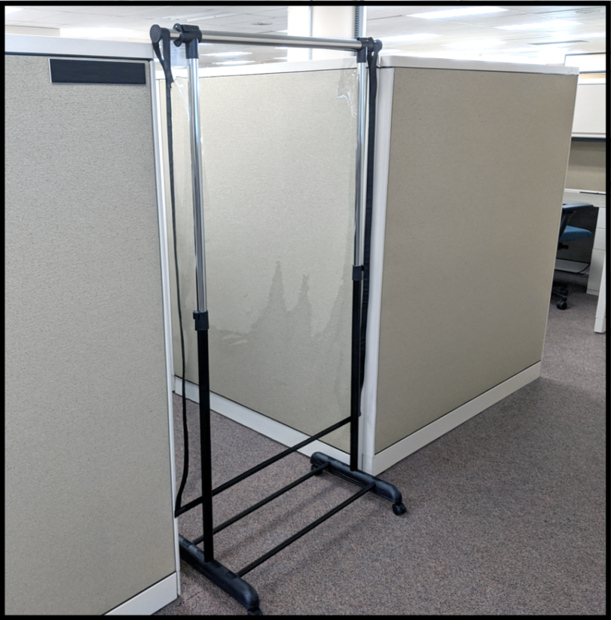 Floor Stand Partitions