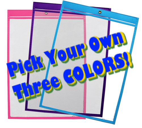 9x12 Mix-N-Match Color 15/Pack