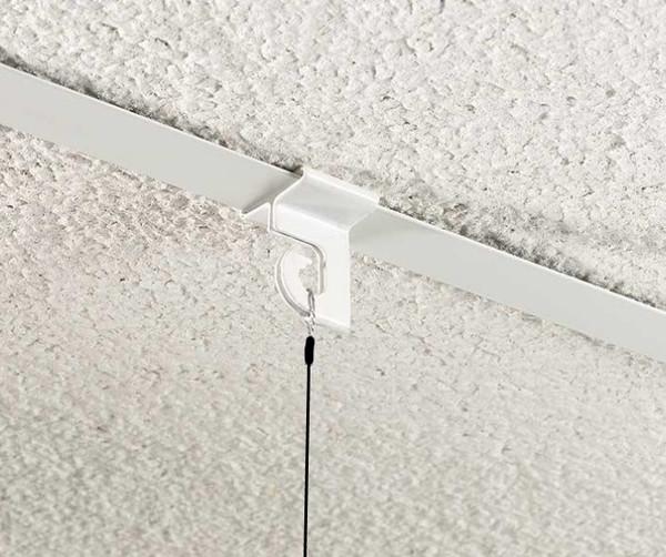Drop ceiling hook