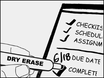 Dry Marker Erasable