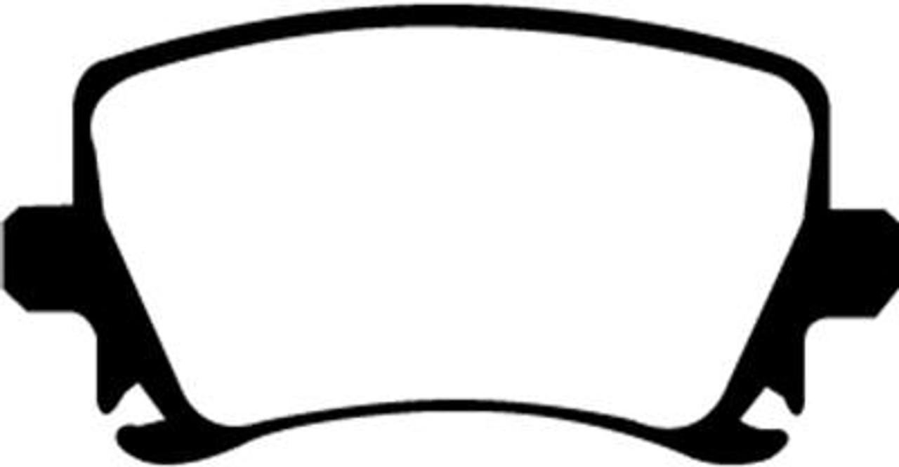 GreenStuff Brake Pads (07' VW GTI) - Set of 4