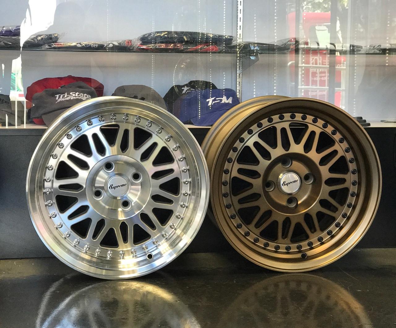 Supreme Wheels 15x8 4x100 et25