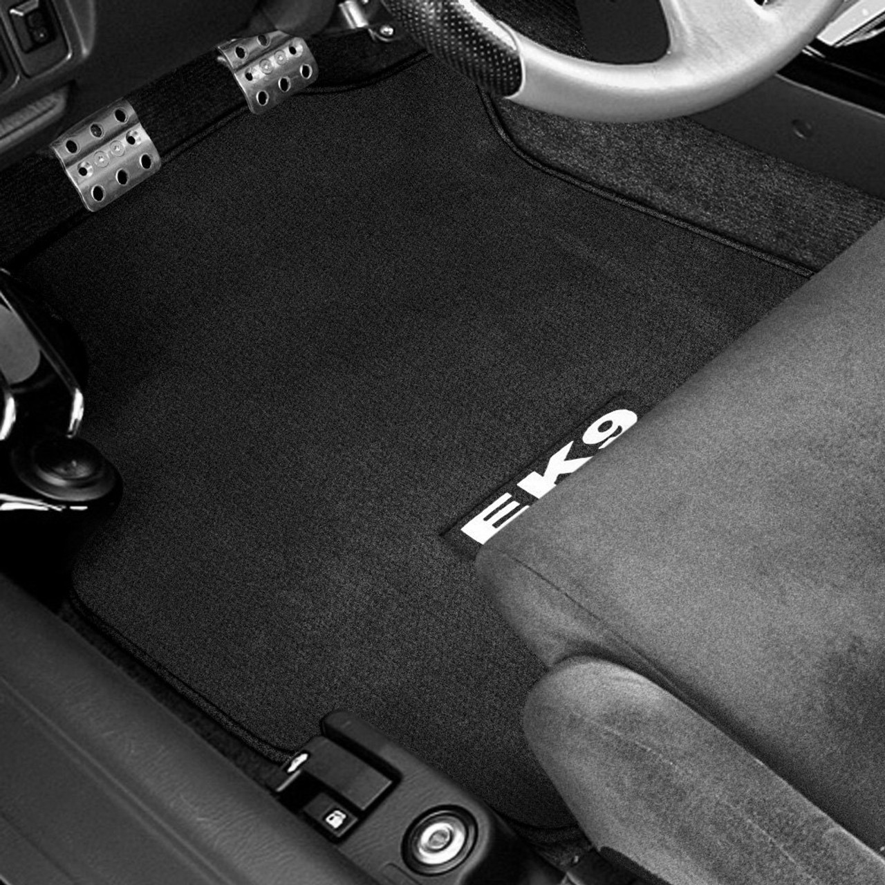 NRG - NRG Floor Carpet Mats Black Factory Fit
