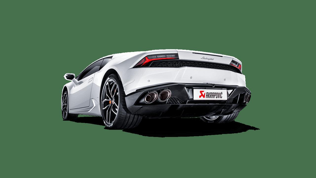 Akrapovič - Lamborghini Huracán LP 610-4 Titanium Slip-On Exhaust (15-18' Coupè/Spyder)