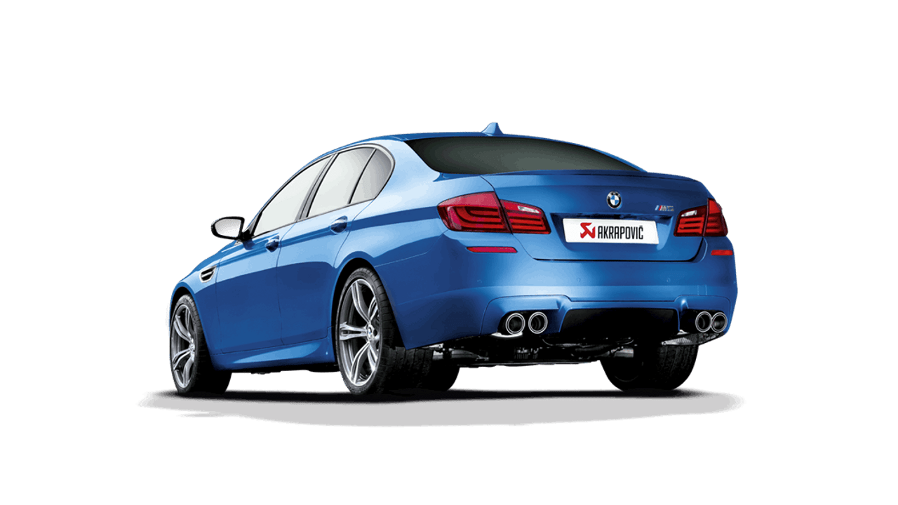 Akrapovič - 11-17' BMW M5 (F10) Evolution Line Cat-Back Exhaust (Titanium)