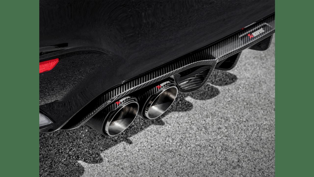Akrapovič - 14-17' BMW M3 (F80) Rear Carbon Fiber Diffuser - High Gloss