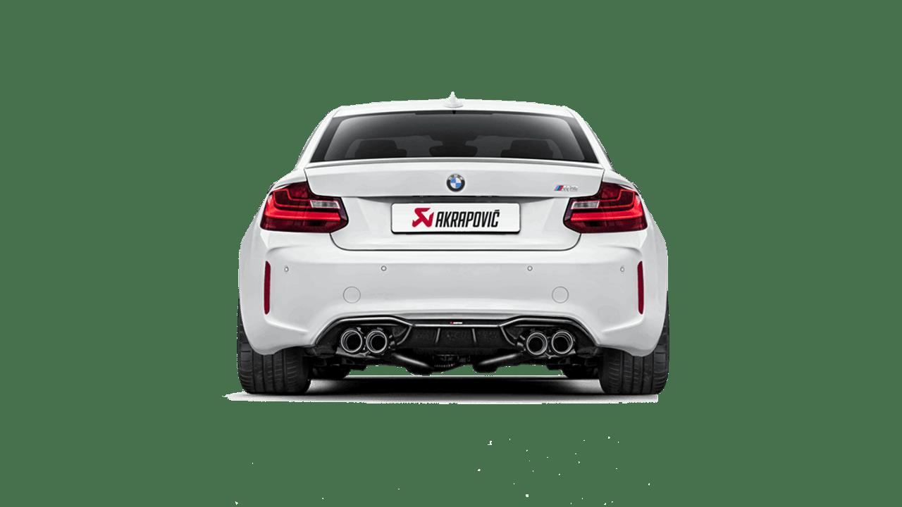 Akrapovič - 16-17' BMW M2 (F87) Rear Carbon Fiber Diffuser - High Gloss