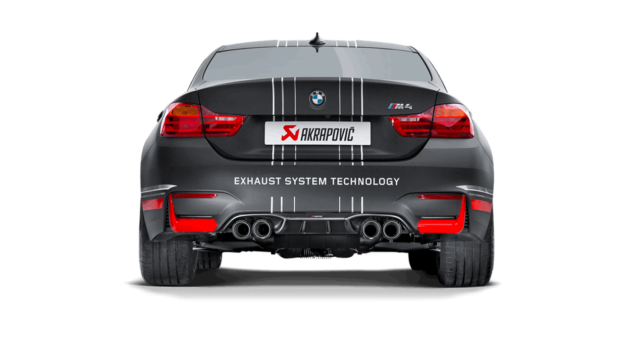 Akrapovič - 14-17' BMW M3 (F80) Rear Carbon Fiber Diffuser - Matte