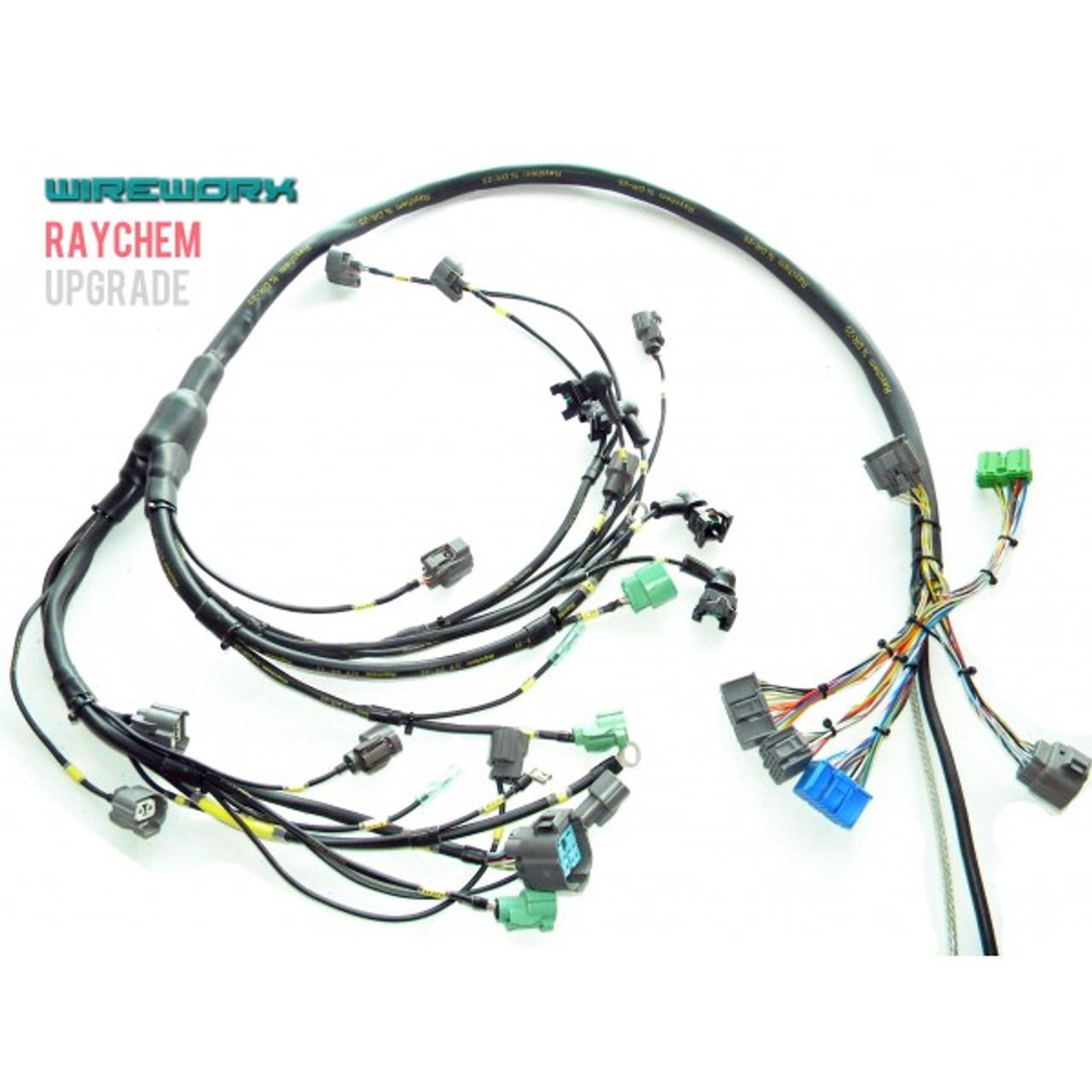 WireWorx - B-SERIES NON/MILSPEC ENGINE HARNESS on
